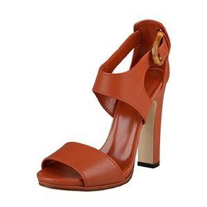 Gucci Bamboo Heeled Sandal
